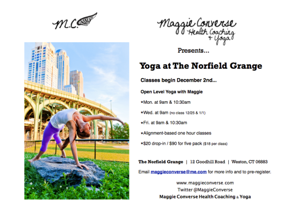 Yoga at The Grange