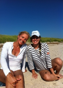 Jennifer & Maggie at Sandy Neck, Summer 2014