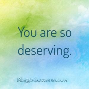 deserving 2